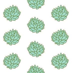 succulents simple cacti cactus cactuses fabric succulents fabric