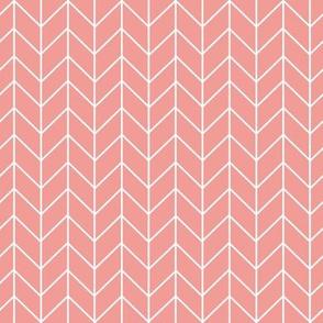 chevrons blush stripes girls stripe coordinate blush coral girls fabric