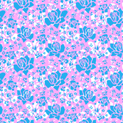 Delight - Icy Pink, Azure, White