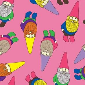 Garden Gnomes (pink)