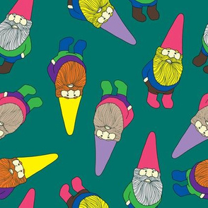 Garden Gnomes (green)