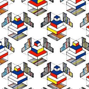Geometry: Mondrian Colors