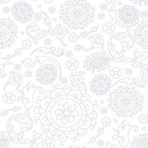 Floral cute pattern