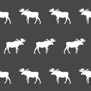 charcoal moose fabric charcoal moose design baby nursery fabric moose fabric
