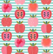Pink Lady Apples - Mint Stripe