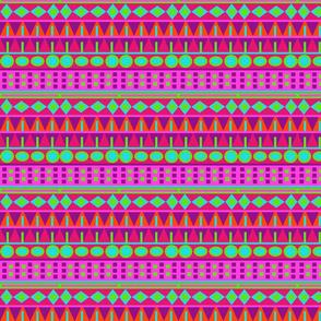 Pink Aztec Tribal