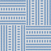 Buzz Weave - Summer Blue, Pale Grey