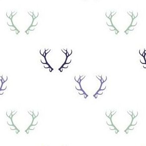 Green & Purple Deer Anemone Mix & Match