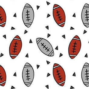 football // burgundy and grey ua football college football kids sports fabric football design andrea lauren