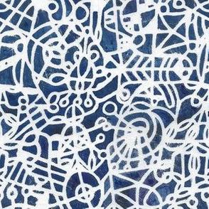 Web of Blueness