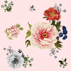 Wild Side Florals in Pink