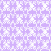 Daphne - Icy Violet, White