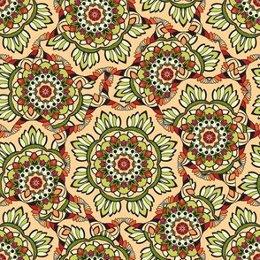 Psychedelic ornament
