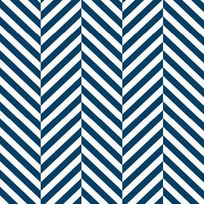 herringbone LG navy blue