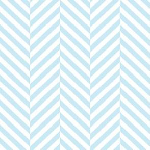 herringbone LG ice blue