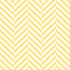 herringbone LG sunshine yellow