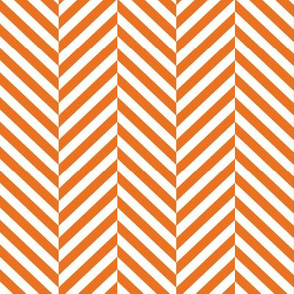 herringbone LG orange
