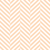herringbone LG creamy peach