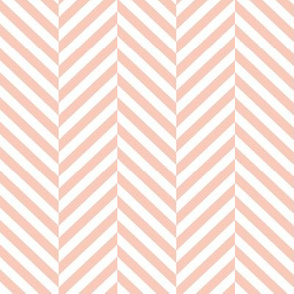 herringbone LG blush
