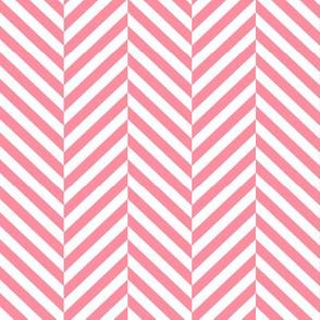 herringbone LG pretty pink
