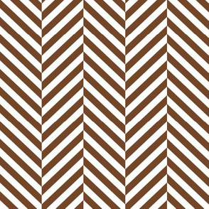 herringbone LG chocolate
