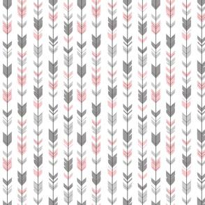 Arrow feather- halfscale - Meadow sunrise