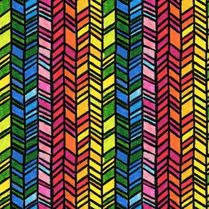 Crayons Chevron