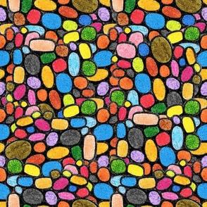 Crayons Pebbled