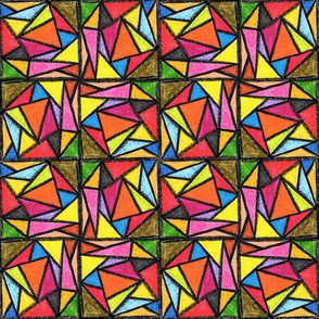 Crayons Triangular