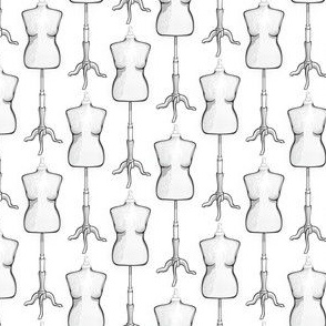 Distressed Dressform
