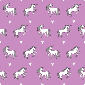 unicorn // purple girls cute design for little girls unicorn fabric unicorn design unicorns fabric