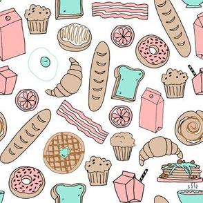 brunch // brunch bakery pastries pastry patisserie french toast donuts waffles breakfast food andrea lauren