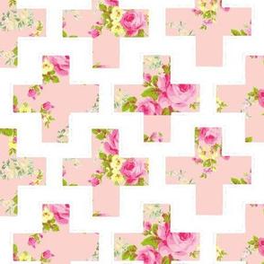 Plus Pink! Rose Floral