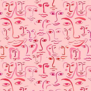 kissy faces