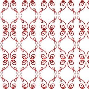 Doodle Frederik red