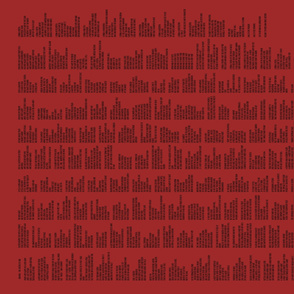 Prose Edda's Hávamál  Red & Black