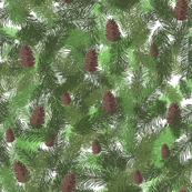 Small Christmas and pines