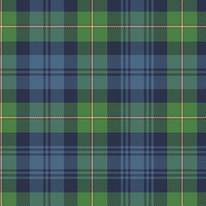 Gordon Highlanders tartan, ancient colors