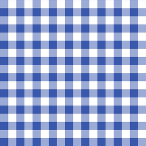 Gingham Blueberry