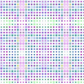 Dizzy Dots on White