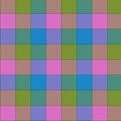 "paneled tartan check - 3"" - butterfly"