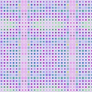 Dizzy Dots on Lilac