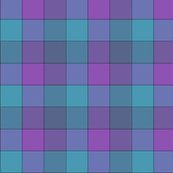 "paneled tartan - 3"" - jazz blues"