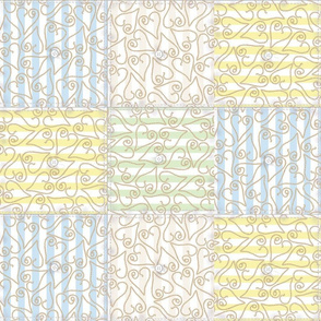 BBGW Lariat Hearts Quilt Design