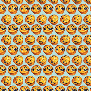 Blueberry Muffin Pattern
