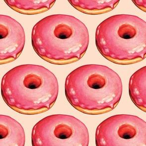 Strawberry Donut Pattern