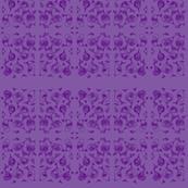 Violet Swirls on Lavender Fields