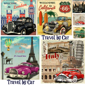 Travel by Car see the world!