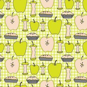 Green Apple Gingham