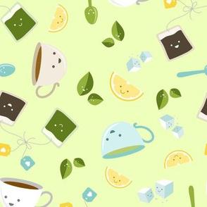 Best Tea Friends - Green
